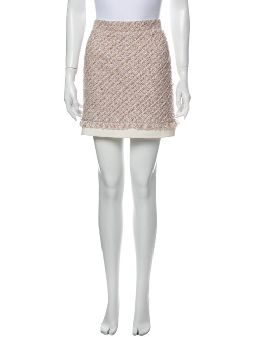 Oscar de la Renta 2016 Mini Skirt Pink