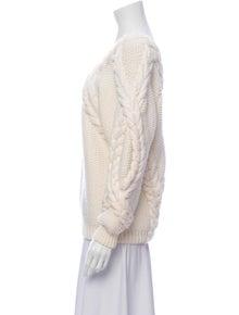 Oscar de la Renta 2019 Merino Wool Sweater w/ Tags