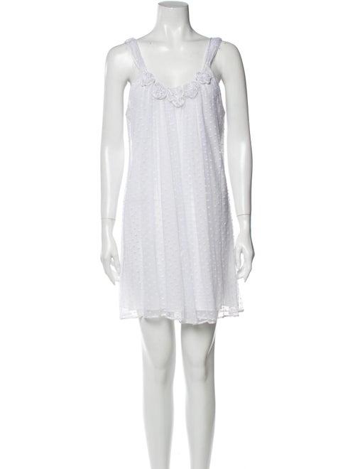 Oscar de la Renta Nightgown White