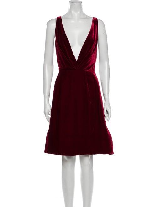 Oscar de la Renta 2018 Knee-Length Dress