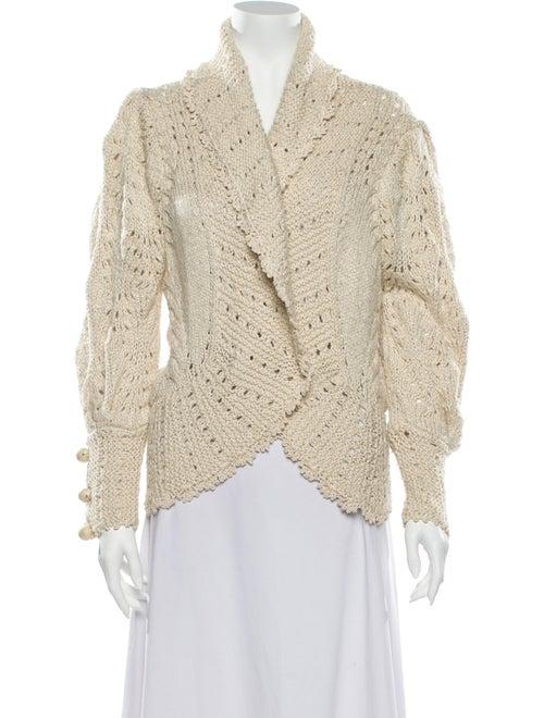 Oscar de la Renta 2006 Silk Sweater