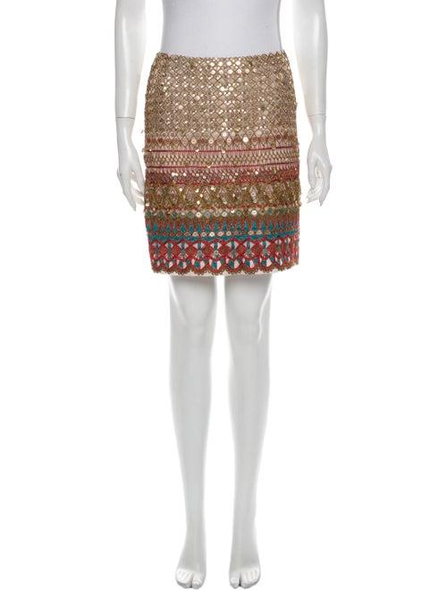 Oscar de la Renta 2010 Mini Skirt