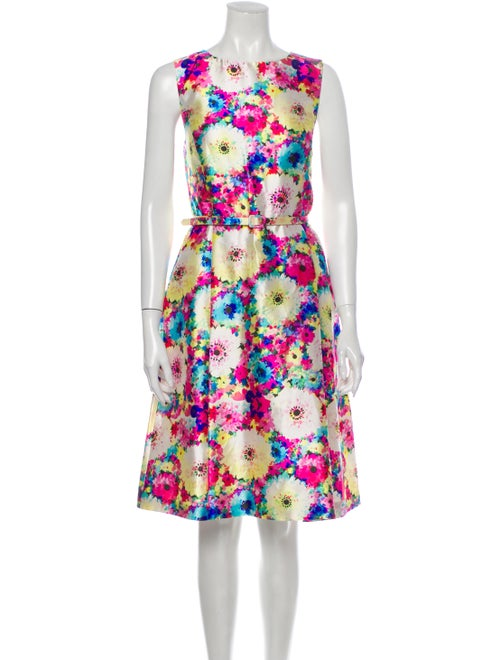 Oscar de la Renta 2016 Knee-Length Dress
