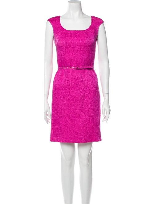 Oscar de la Renta 2013 Mini Dress Pink