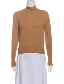 Oscar de la Renta Mock Neck Sweater