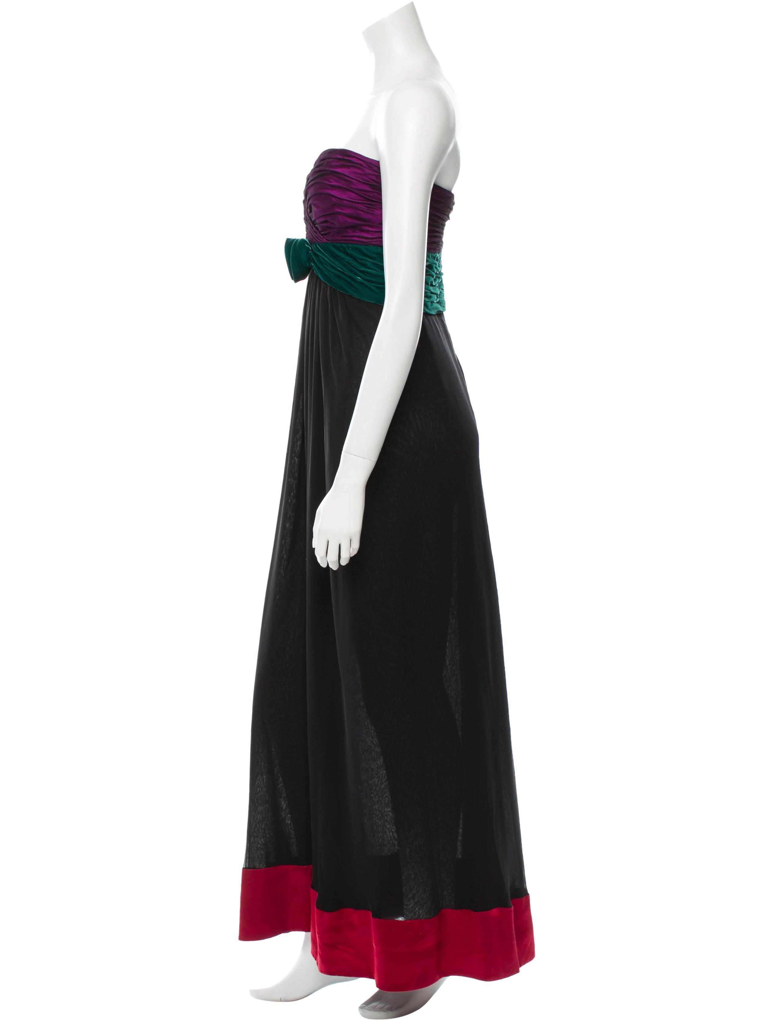 Oscar de la renta silk gown clothing osc32260 the for Oscar de la renta candles