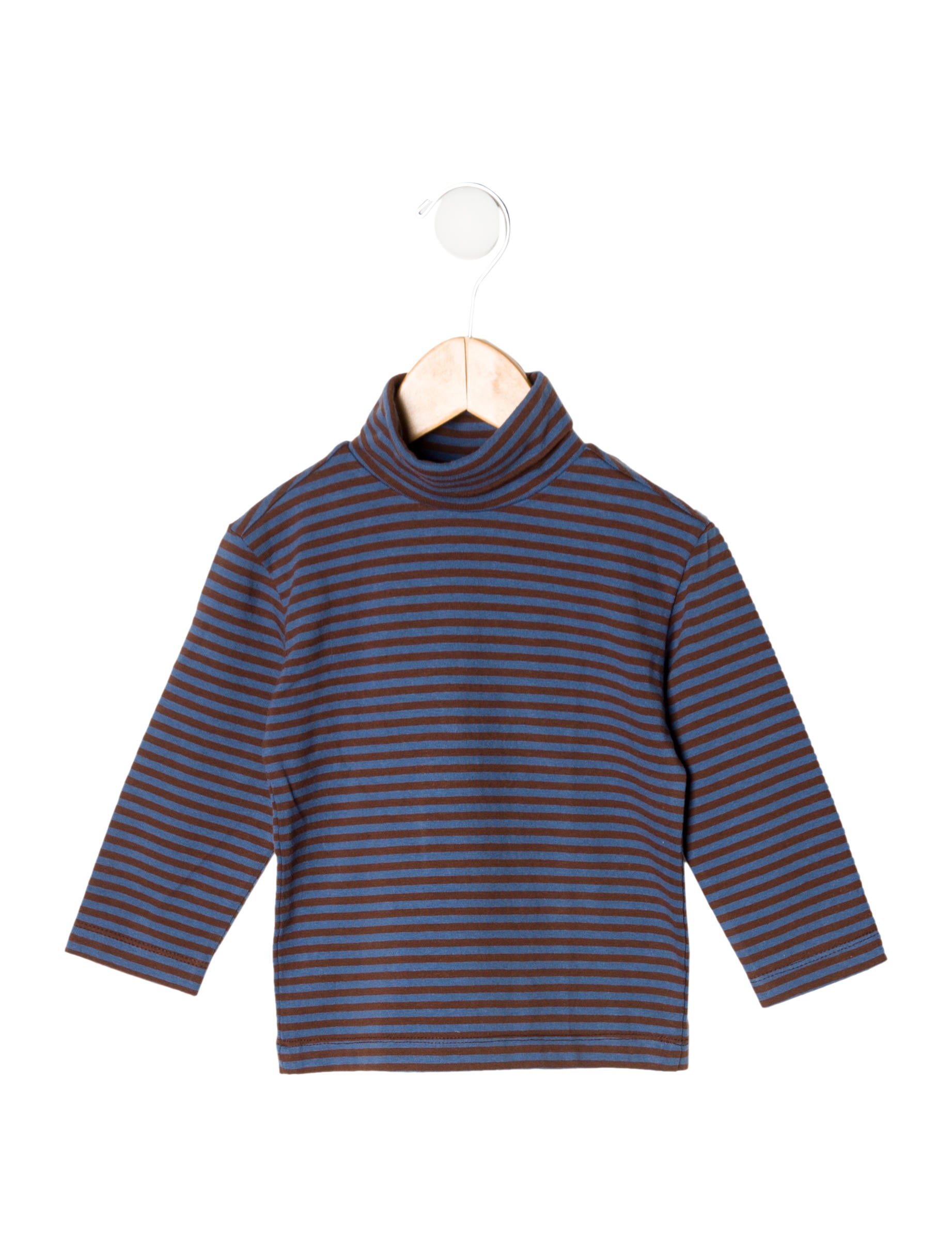 Oscar De La Renta Boys 39 Striped Turtleneck Shirt W Tags
