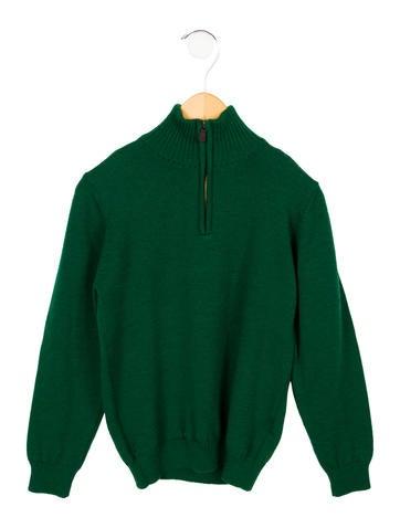 Oscar de la Renta Boys' Merino Wool Sweater None