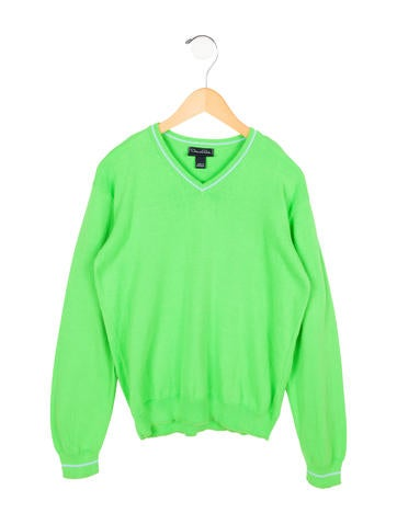 Oscar de la Renta Boys' V-Neck Sweater None