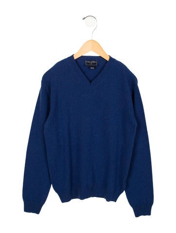 Oscar de la Renta Boys' Wool & Cashmere-Blend Sweater None