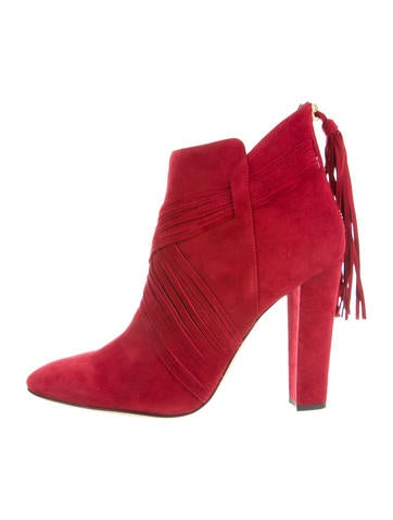 Haris Suede Ankle Boots w/ Tags