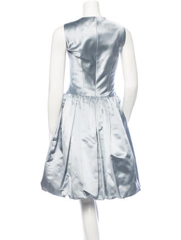 Satin Cocktail Dress