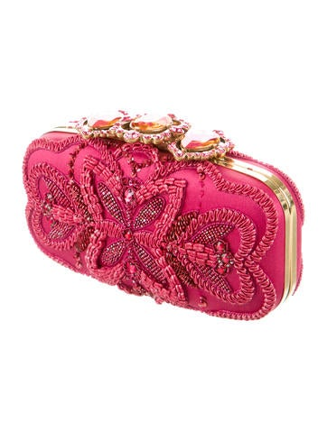Beaded & Embroidered Clutch