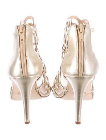 Gladia Lamé Sandals