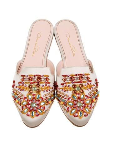 Winni Bead-Embellished Mules w/ Tags