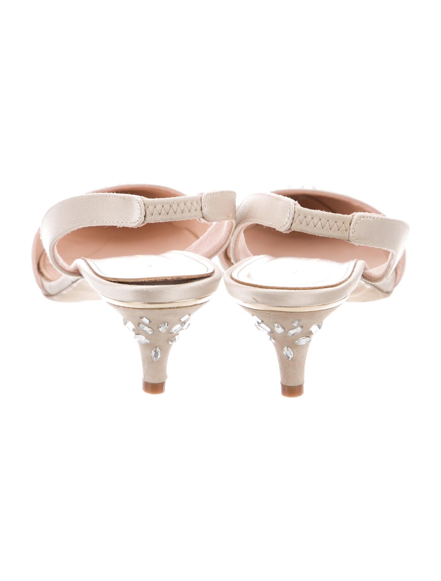Oscar de la renta sami strass pumps shoes osc41213 for Oscar de la renta candles