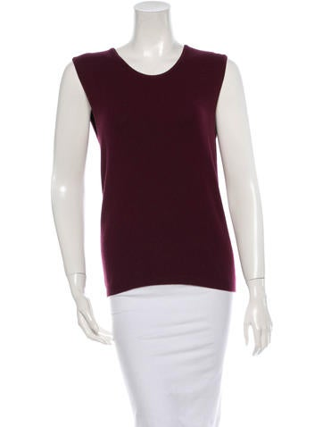 Oscar de la Renta Wool Top None
