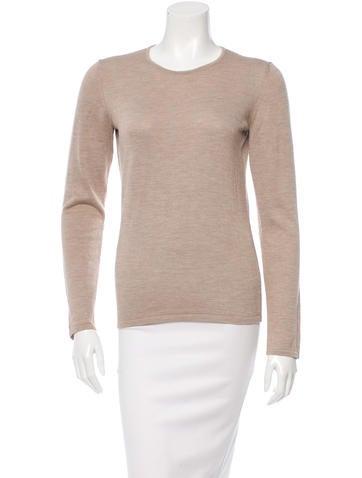 Oscar de la Renta Cashmere & Silk-Blend Sweater w/ Tags None