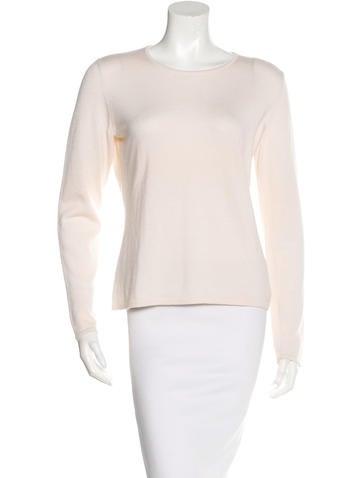 Oscar de la Renta Cashmere & Silk-Blend Sweater None