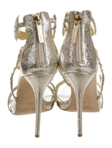 Tatum Metallic Sandals w/ Tags