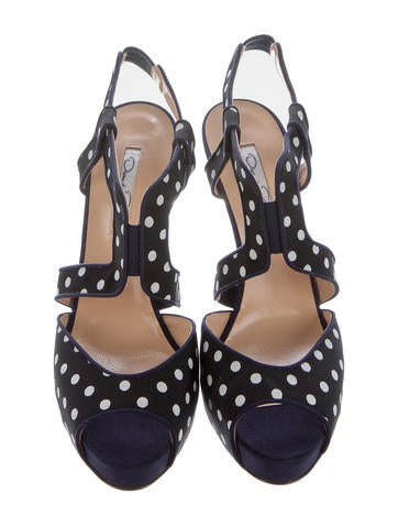 Elite Polka Dot Sandals