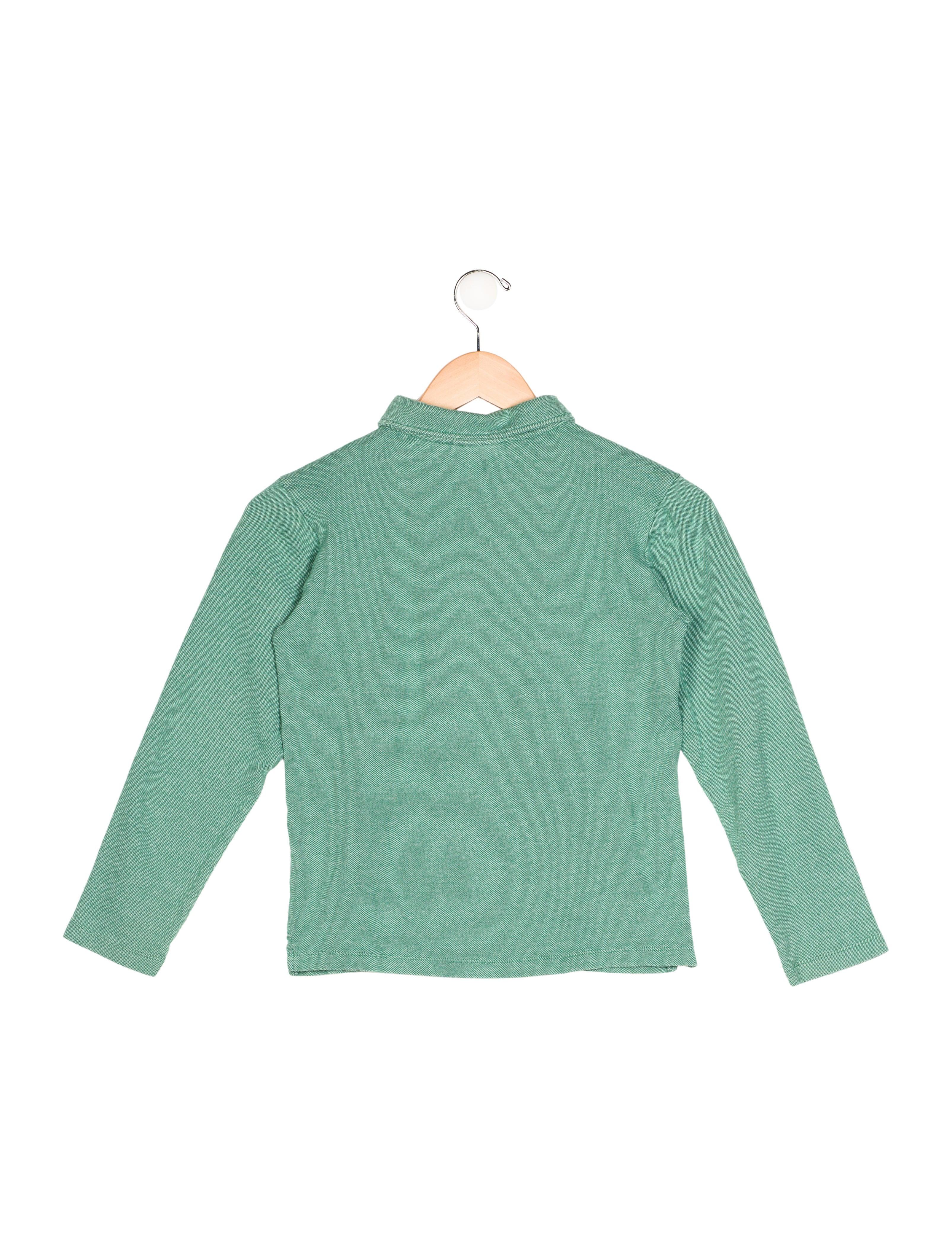 Oscar de la renta boys 39 long sleeve polo shirt boys for Long sleeved polo shirts for boys