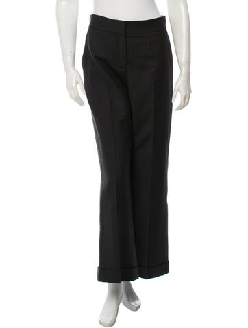 Oscar de la Renta Wool Pants None