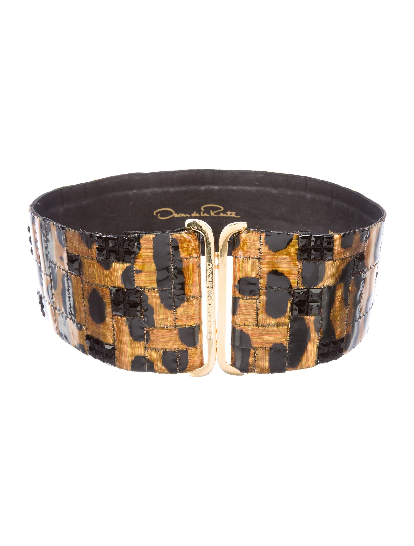 Oscar de la renta embellished waist belt accessories for Oscar de la renta candles