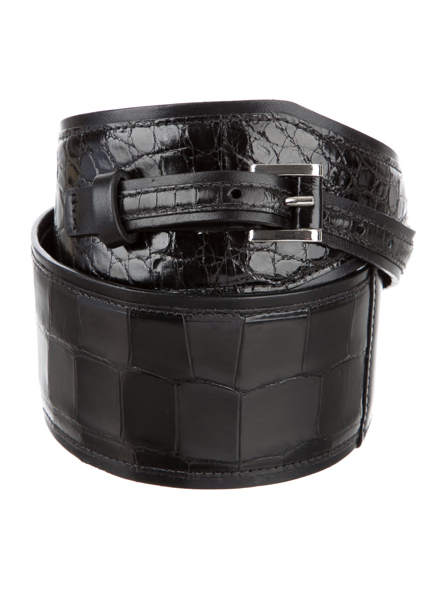 Oscar de la renta alligator waist belt accessories for Oscar de la renta candles