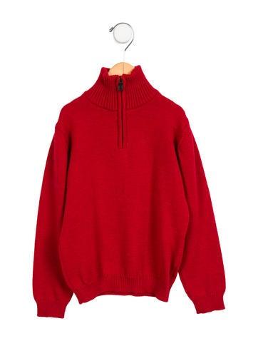 Oscar de la Renta Boys' Wool Pullover Sweater None