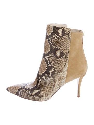 Oscar de la Renta Embossed Ankle Boots finishline cheap online clearance order sneakernews sale online cheap USA stockist Dh1W9AMwE