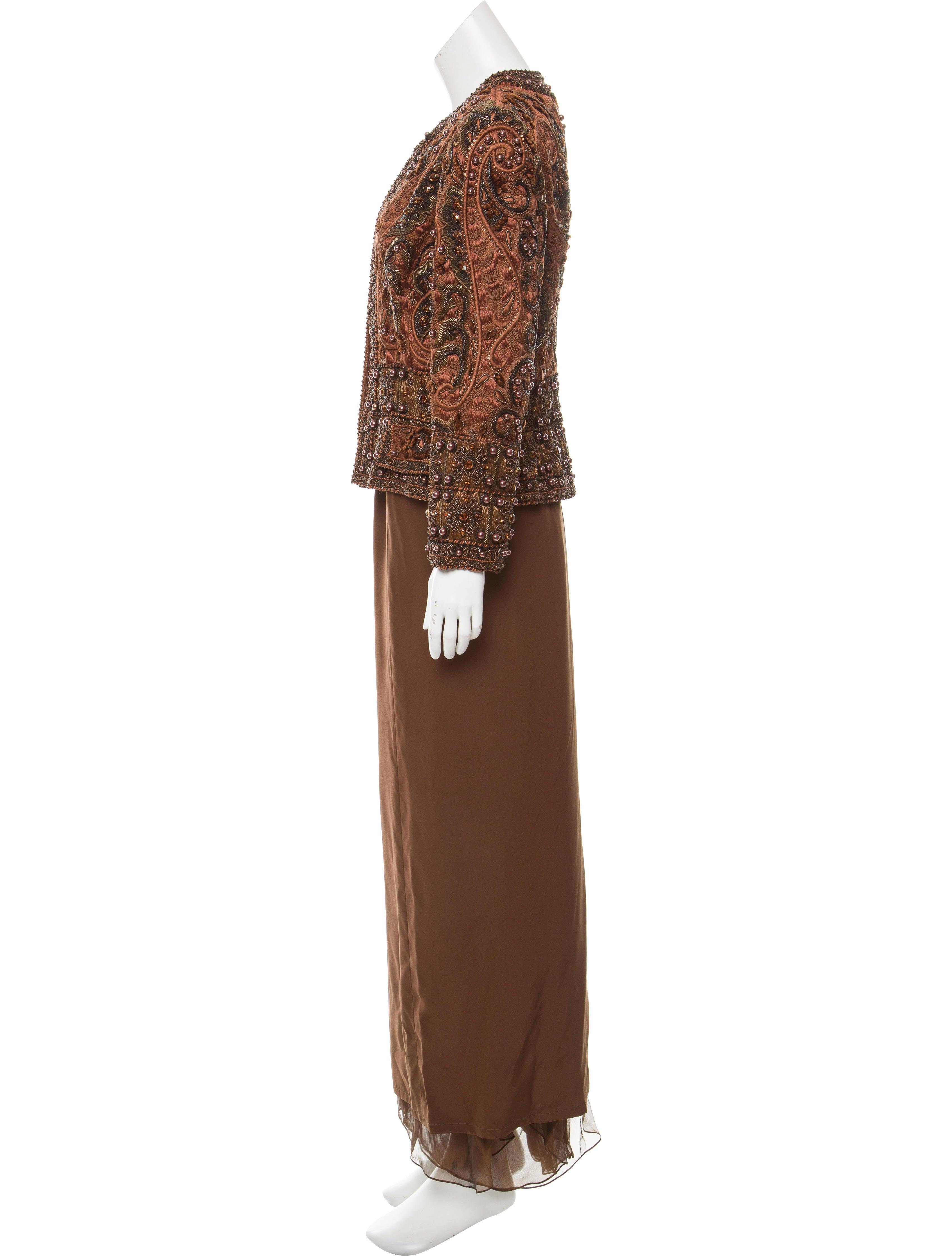 Oscar de la renta vintage embellished skirt suit for Oscar de la renta candles