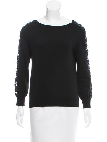 Oscar de la Renta 2016 Virgin Wool Sweater None