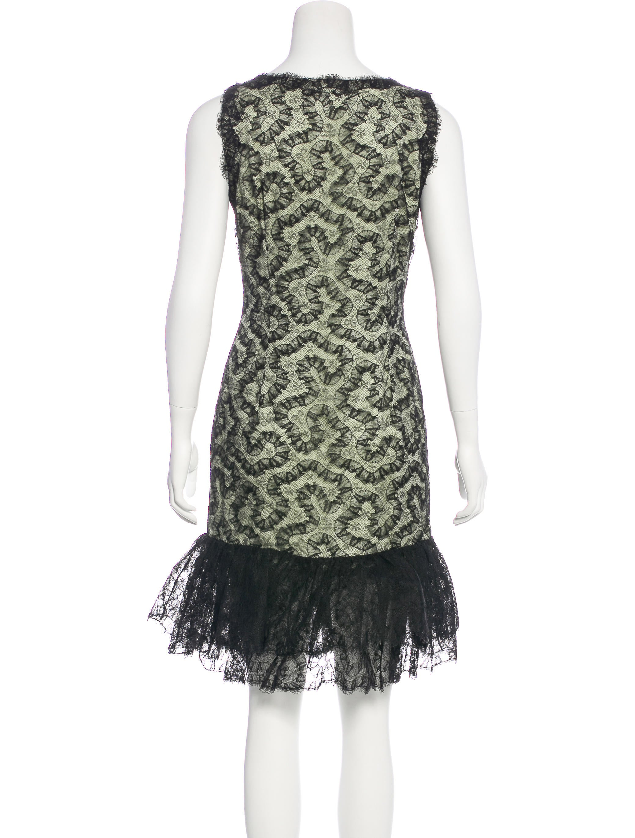 oscar de la renta vintage lace dress w tags clothing