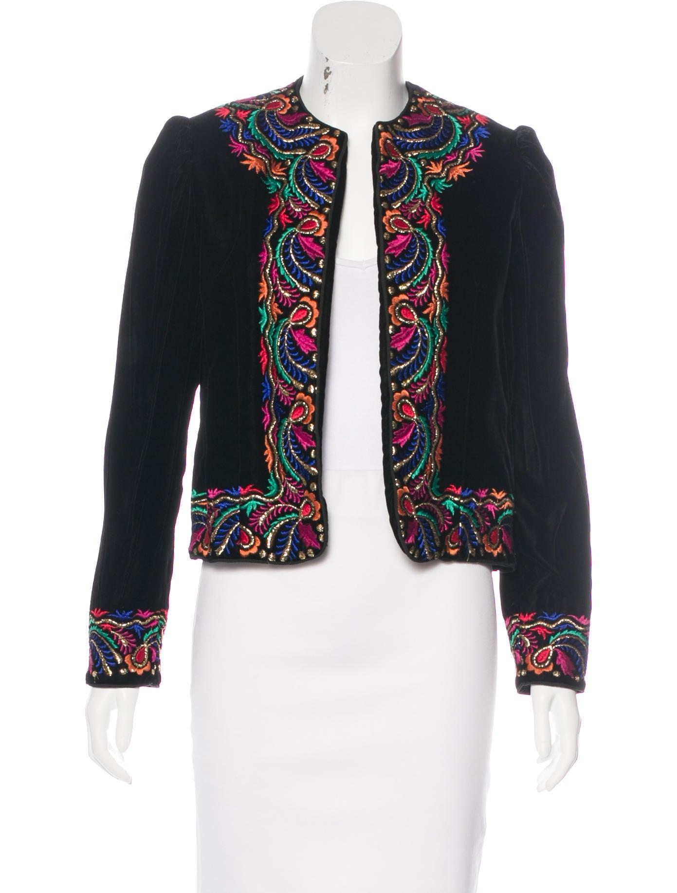 Oscar de la renta vintage embroidered jacket clothing