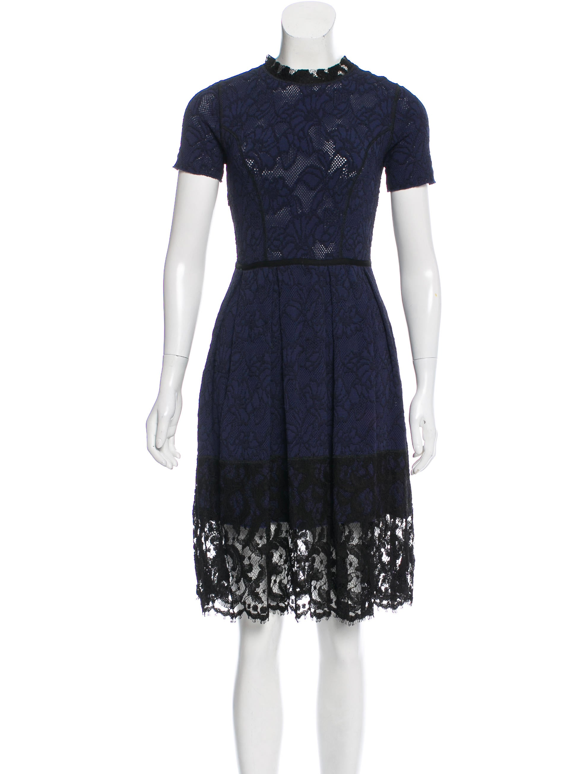 Knitting Wear 2016 : Oscar de la renta knit dress clothing osc