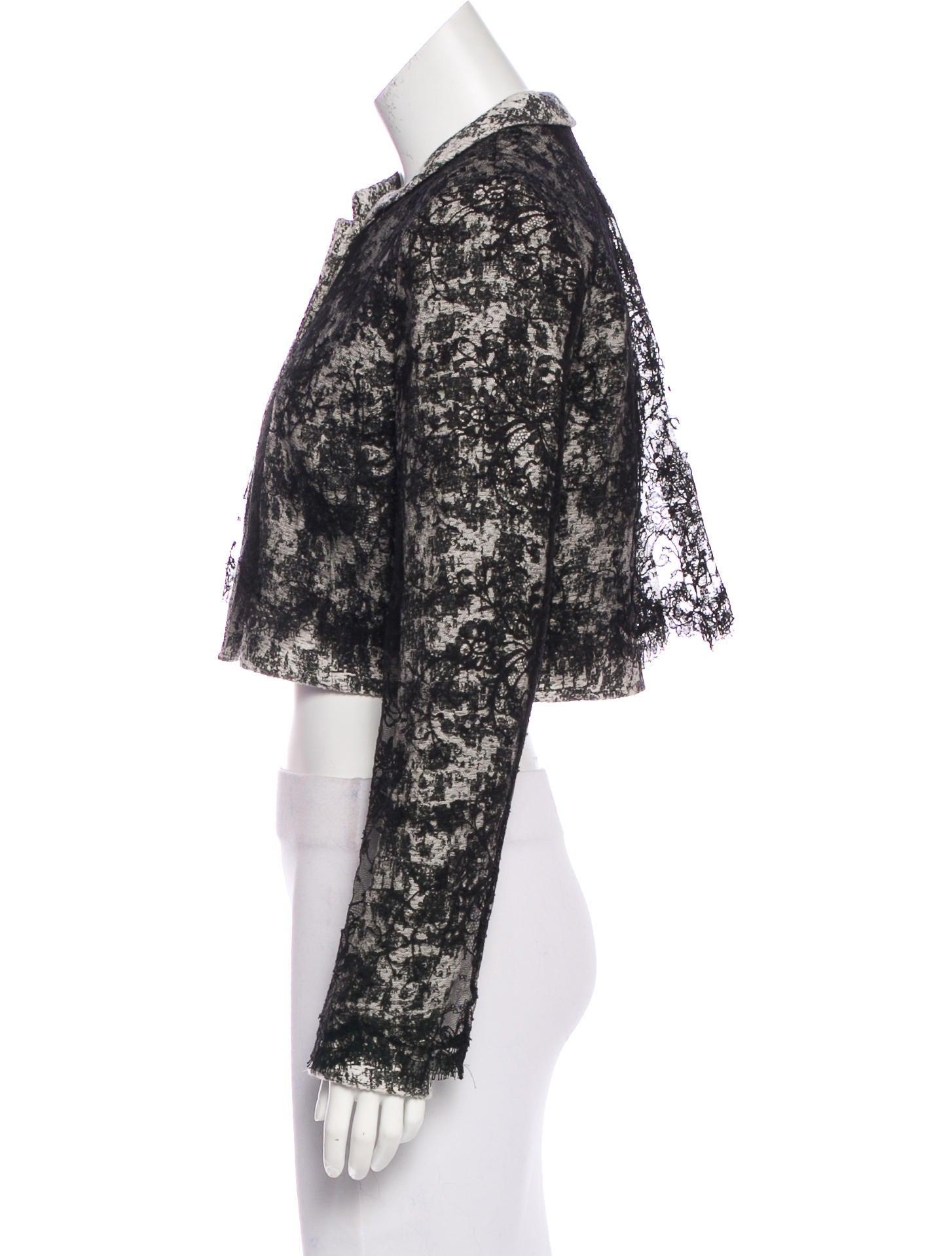 Oscar de la renta 2015 lace jacket clothing osc61590 for Oscar de la renta candles