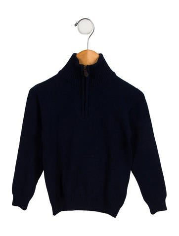 Oscar de la Renta Boys' Wool Pullover Sweater None