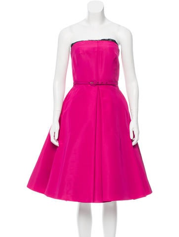 Oscar de la Renta 2016 Silk Dress w/ Tags None