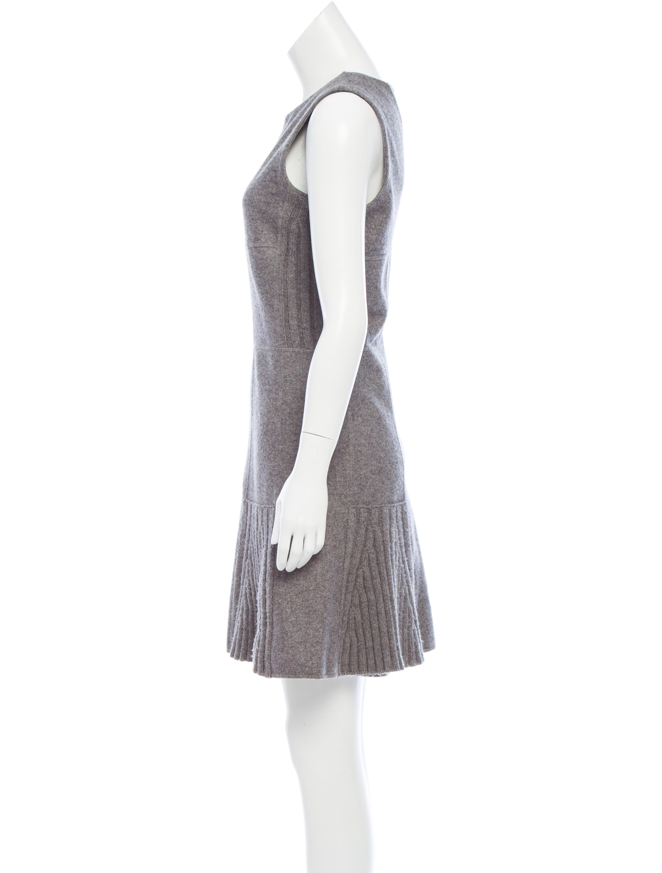 Oscar de la renta wool cashmere blend dress clothing for Oscar de la renta candles