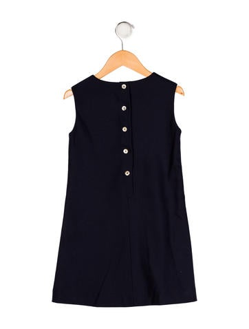 Girls' Sleeveless Shift Dress