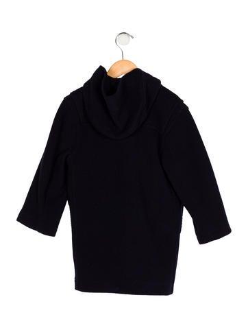 Boys' Wool Hooded Coat w/ Tags