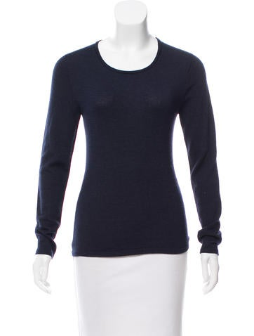 Oscar de la Renta Cashmere & Silk Knit Sweater None
