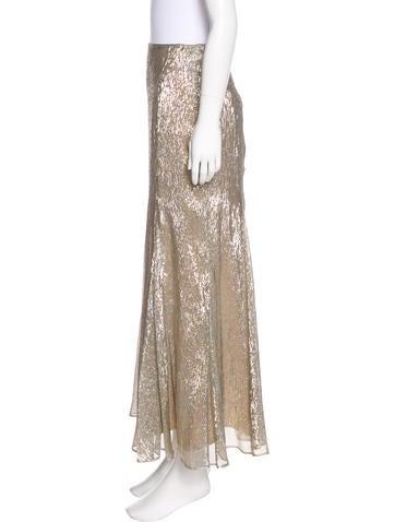 Silk Godet Skirt