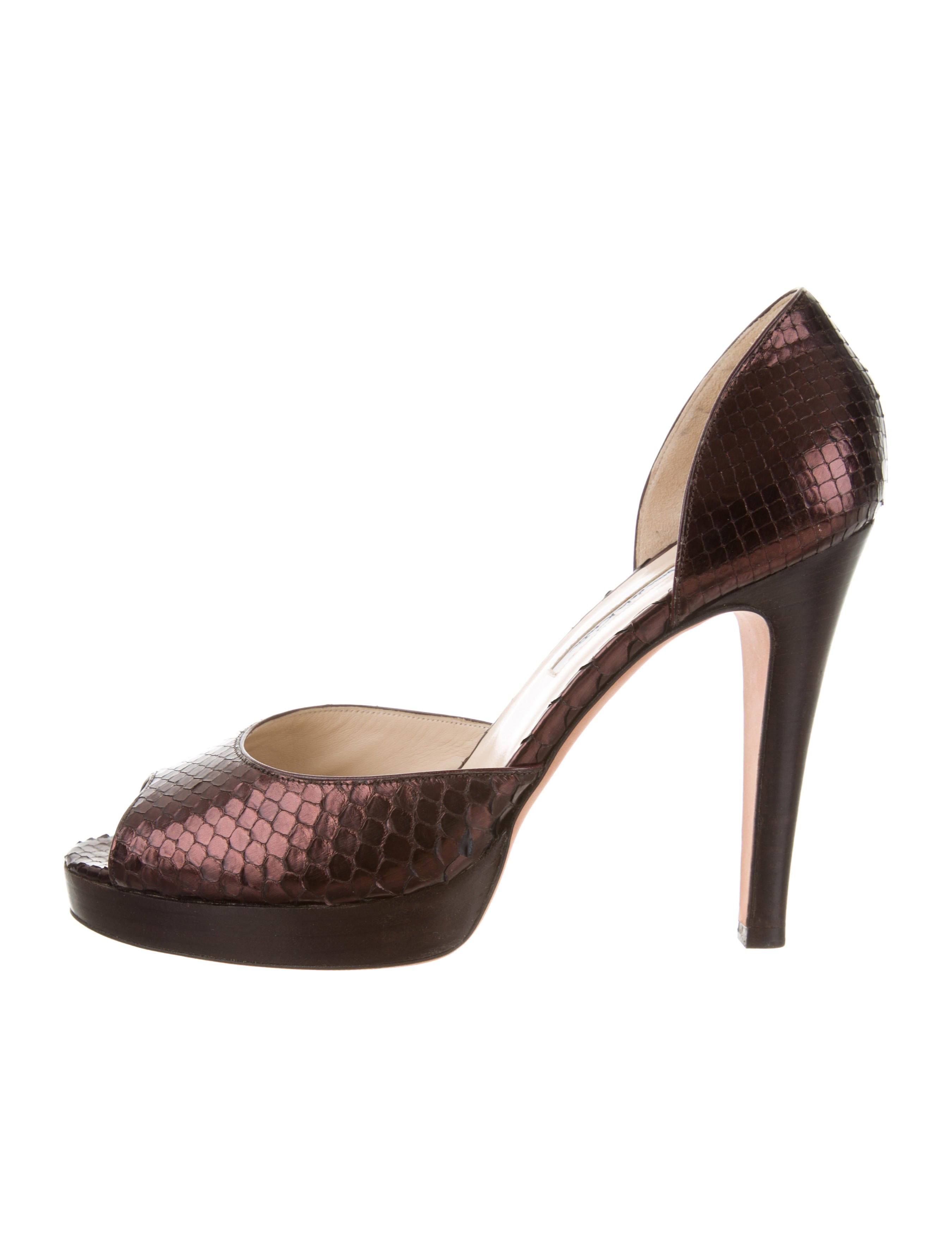 Oscar de la Renta Embellished d'Orsay Pumps w/ Tags clearance with credit card SECdQGah6