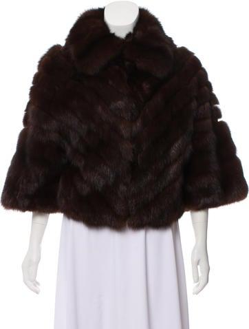 Oscar de la Renta Collared Fur Jacket None