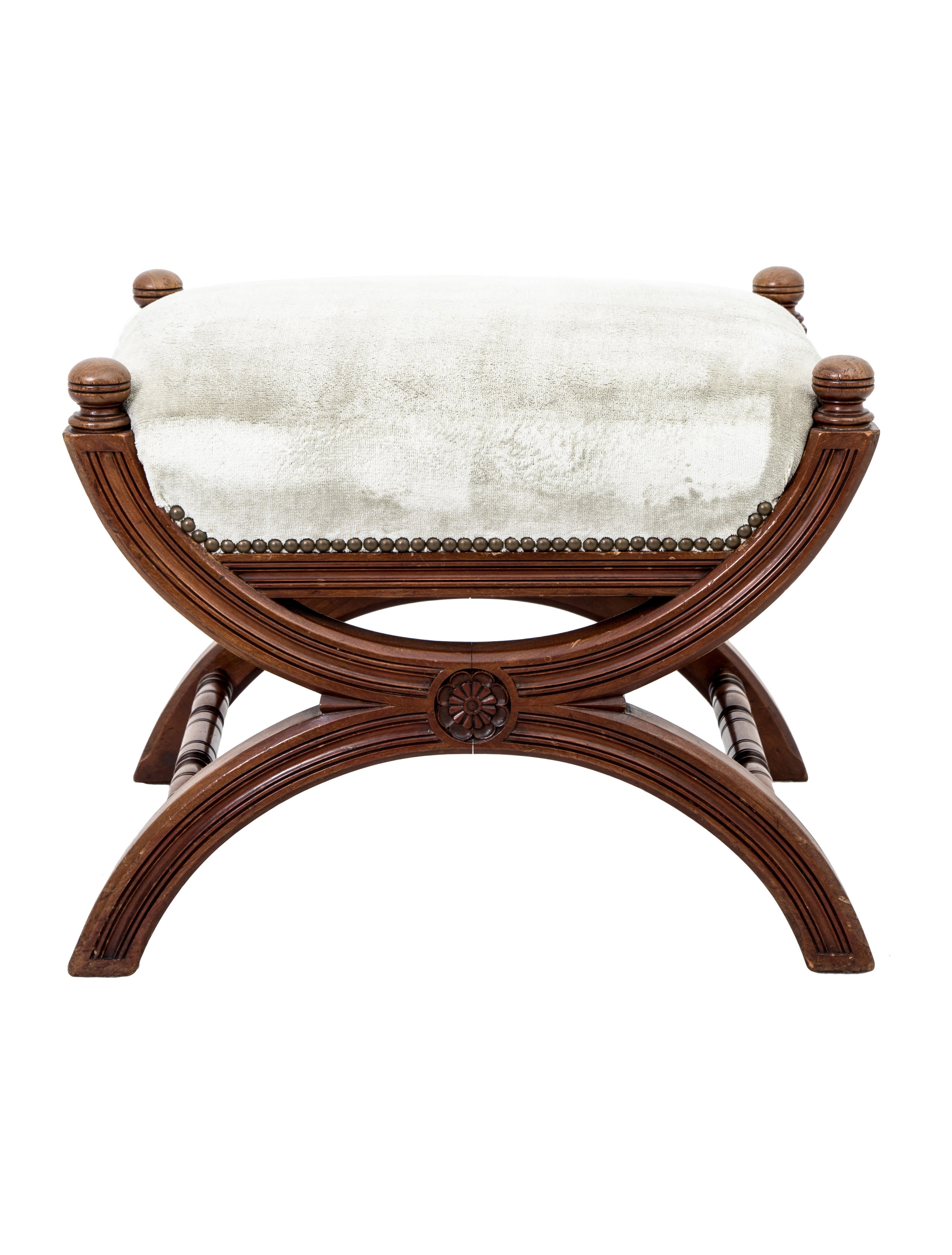 Ottoman Curule Bench Furniture Ottom20009 The Realreal