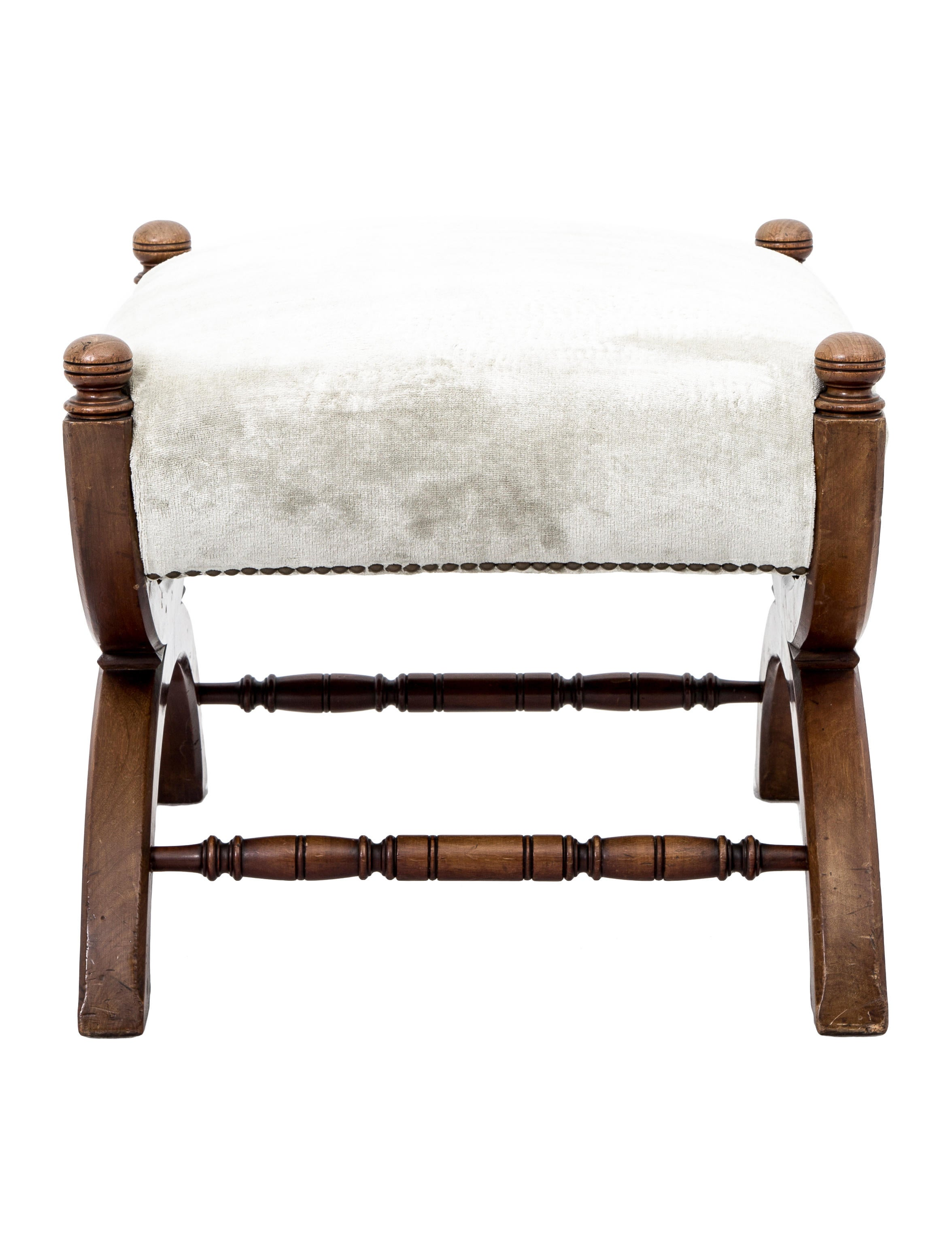 Ottoman Curule Bench Furniture OTTOM20009 The RealReal : OTTOM200093enlarged from www.therealreal.com size 2352 x 3102 jpeg 422kB