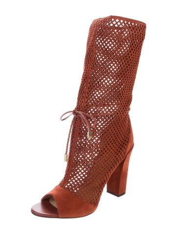Suede Mirah Mid-Calf Boots