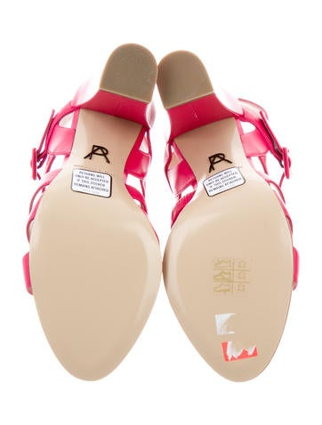 Crossover Lotus Sandals w/ Tags
